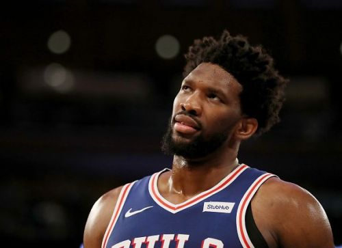 Joel Embiid continues to dominate the opponents