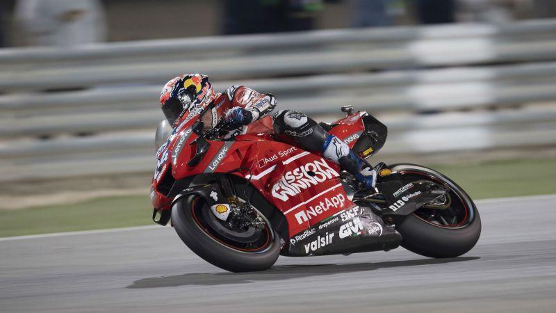 Qatar winner Andrea Dovizioso