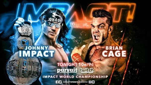 Johnny Impact looked to continue a run of impressive championship defenses tonight