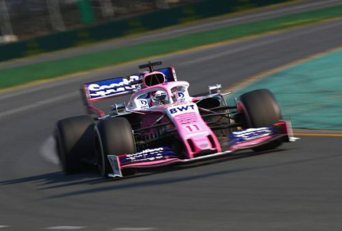 Sergio Perez at the F1 Grand Prix of Australia 2019