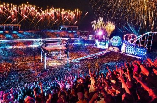WrestleMania is the biggest wrestling extravaganza of the year!
