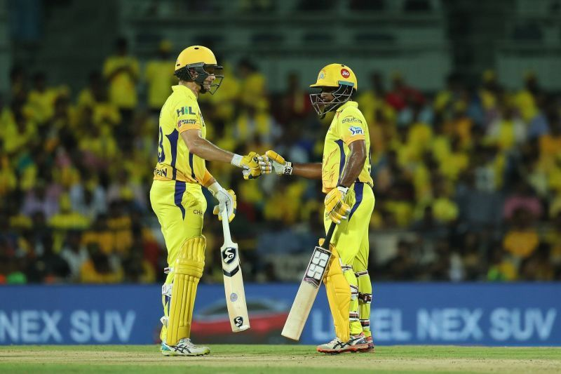 Watson and Rayudu will want to set a platform for the chase