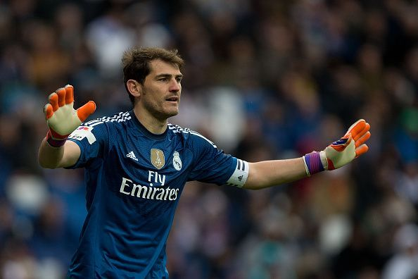 Iker Casillas during his reign at Real Madrid