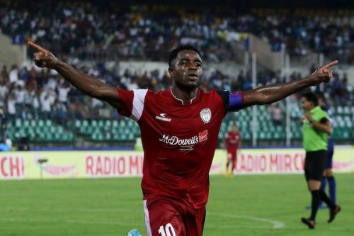 Ogbeche has been clinical for the Highlanders this season (Image Courtesy: ISL)
