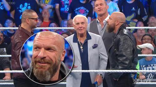 The Evolution on SmackDown 1000.