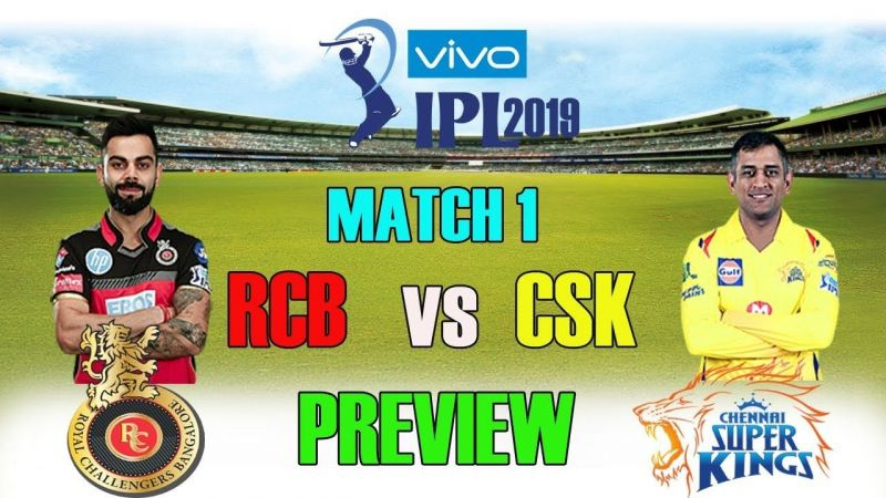 IPL 2019: Match 1, CSK vs RCB Today's Predicted Playing 11