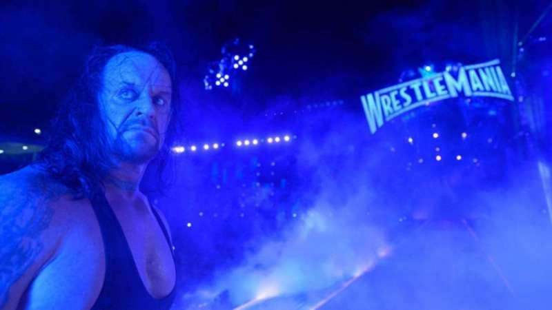 The Undertaker is 24-2 at WrestleMania