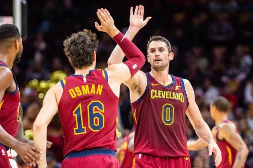 Kevin Love has finally returned to the team after missing 50 games due to toe injury