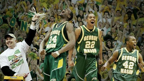 George Mason's run to the Final Four in 2006 is considered the tournament's Cinderella story