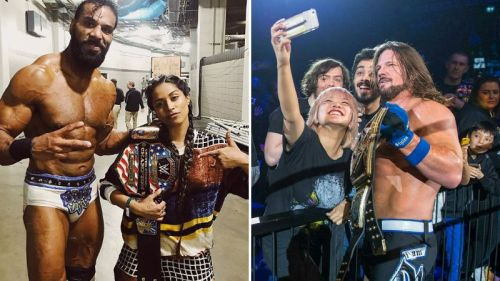 Let's take a look at Superstars who became jobbers and some who became champions
