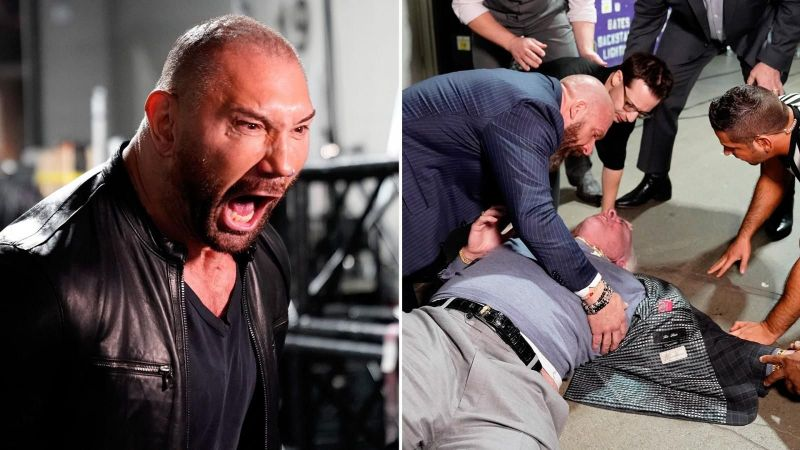 Batista is expected to face Triple H at WrestleMania 35.