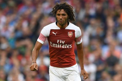 Elneny has more often than not found himself on the bench or out of the squad this season for Arsenal