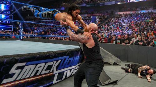 Mustafa Ali returned to SmackDown.
