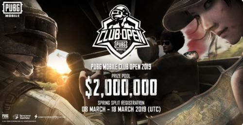 PUBG Mobile Club Open Tournament Cover Photo