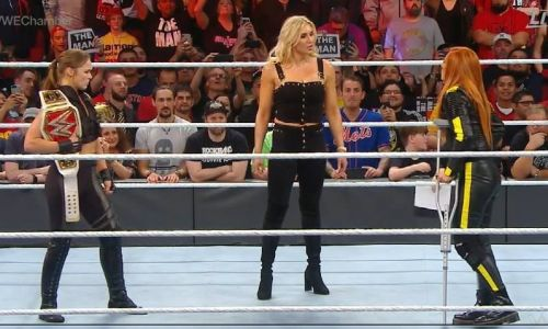Ronda Rousey has made things very 'real' with Becky Lynch