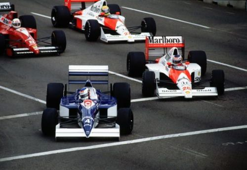 Jean Alesi stunned everybody in the first round of the 1990 season.