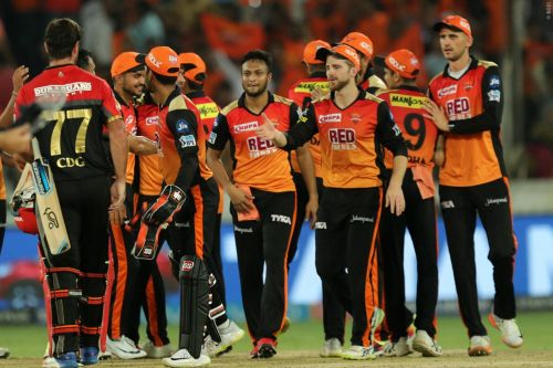Sunrisers have an amazing record at home against RCB