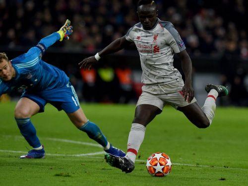 Sadio Mane made nonsense of Manuel Neuer to score Liverpool's first goal