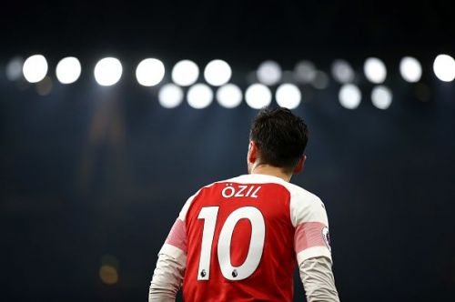 Mesut Ozil is currently struggling for game time at Arsenal