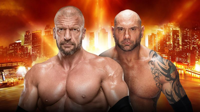 Batista and Triple H will meet at WrestleMania 35