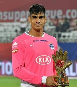 Golden Glove winner, Gurpreet Singh Sandhu