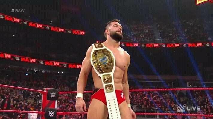 The Intercontinental Champion Finn Balor