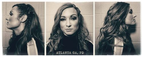 Becky Lynch was arrested on last week's Raw