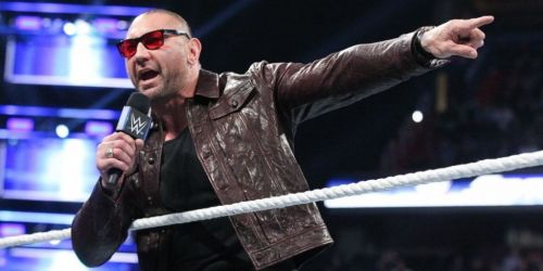 Batista on SmackDown 1000.