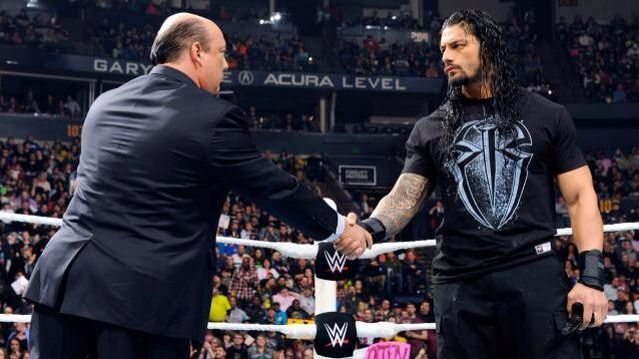 Roman Reigns shares a good bond with the advocate of Brock Lesnar, Paul Heyman