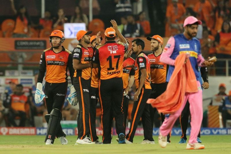 SRH seem to be the better side ahead of this fixture. (Image Courtesy: IPLT20/BCC)