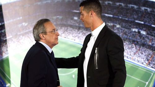 It is well known that Florentino Perez and Cristiano Ronaldo didn't always get on with each other