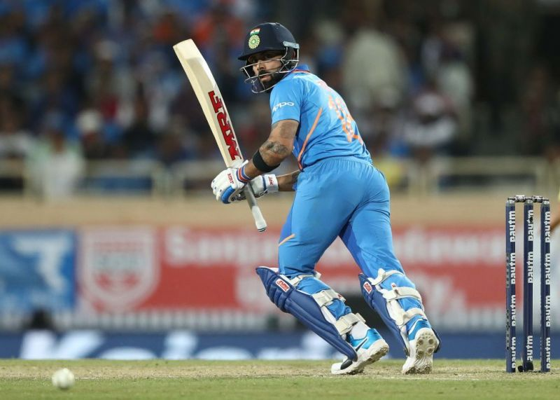 Virat hits the century