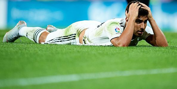 Marco Asensio has been disappointing for Real Madrid this season