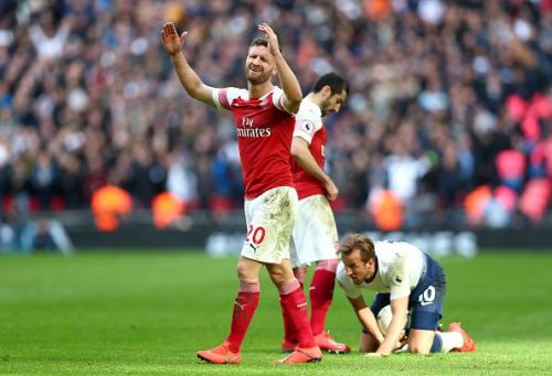 Shkodran Mustafi has to step up in the absence of Sokratis