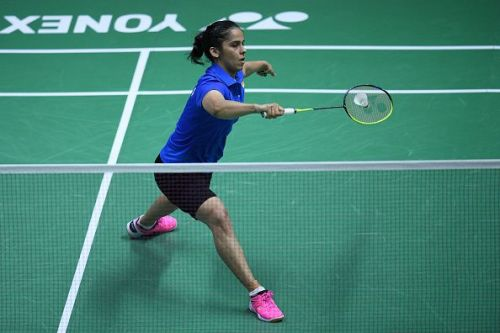 Saina Nehwal continues her bright start to the 2019 season