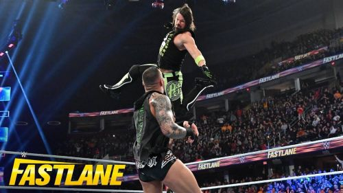 Styles attacked Orton at WWE Fastlane