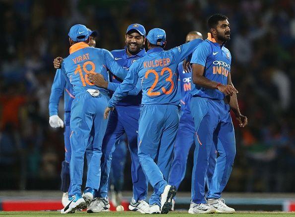 India went 2-0 up at Nagpur