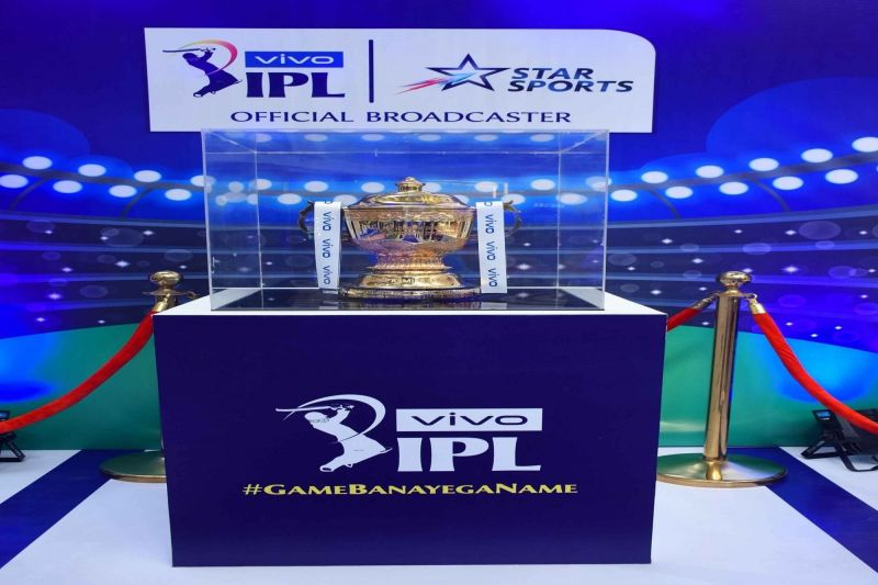 IPL 2019 Trophy. (Photo: IANS)