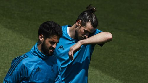Isco and Gareth Bale