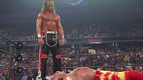 Michaels, who had returned in 2002, resented the Hulkster for living off a legacy from 30 years ago.