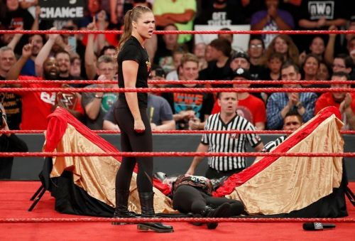 WWE Superstar and former UFC champion Ronda Rousey