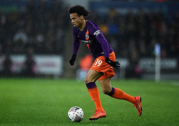 Sane remains integral to Manchester City with his contribution of 14 goals and 16 assists.