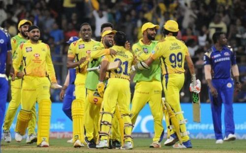 Chennai Super Kings returned with a bang