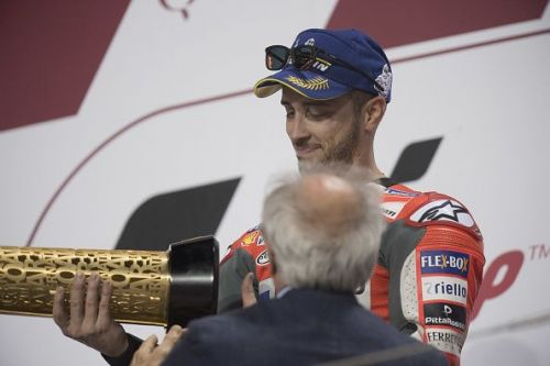 Andrea Dovizioso had defeated Marquez in the opening round in Qatar