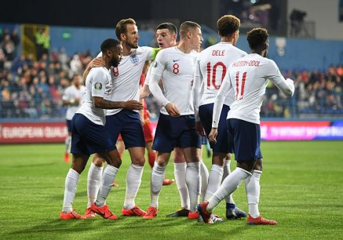 England impressed again in a 5-1 victory over Montenegro tonight