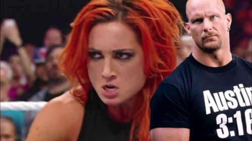 Many have compared Becky Lynch's recent character change to that of Stone Cold Steve Austin