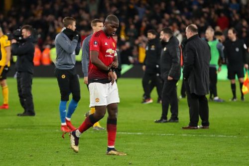 Pogba had a bad day at the office
