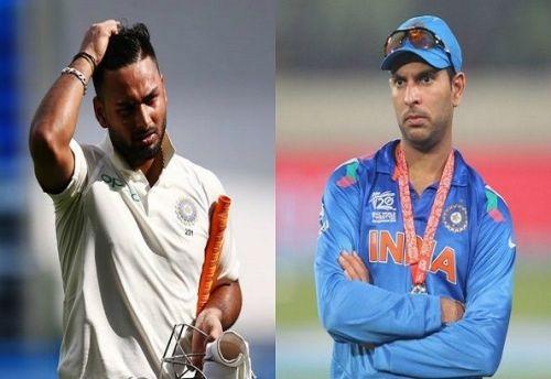 Rishabh Pant & Yuvraj Singh