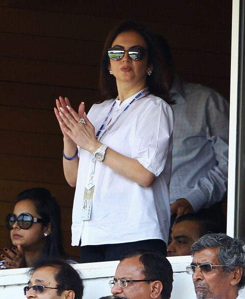 Nita Ambani is present at most MI matches