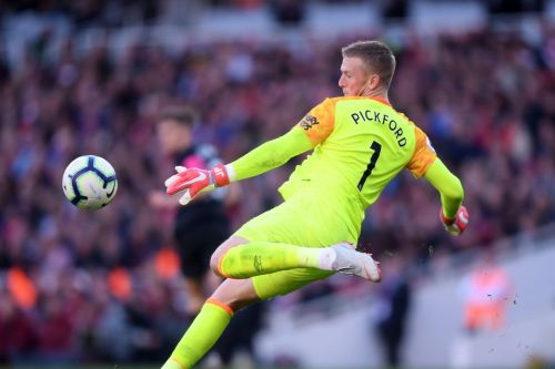 Pickford earned his first international cap in 2017